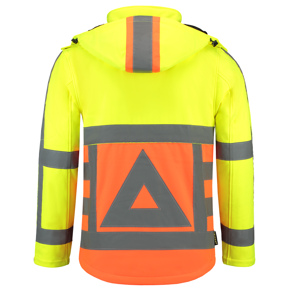 Tricorp softshell achter